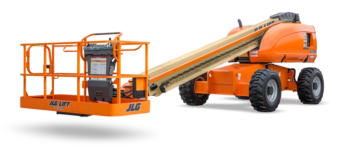 jlg reconditioned boom after