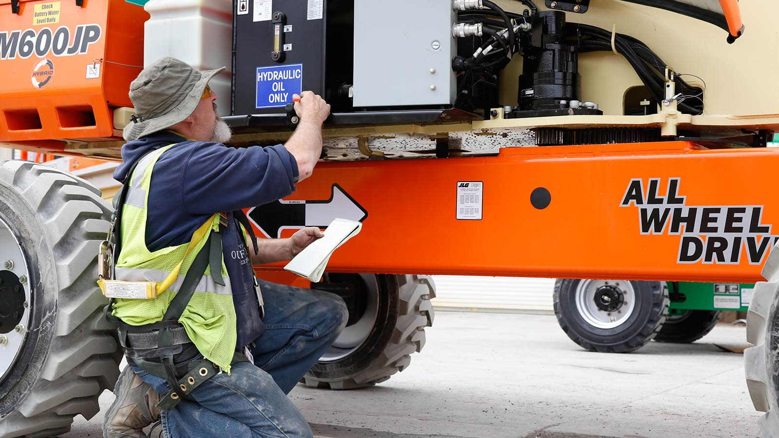 jlg reconditioning final inspection