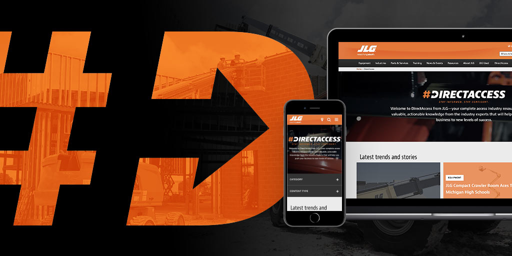 DirectAccess   Access Industry Resource Center   JLG