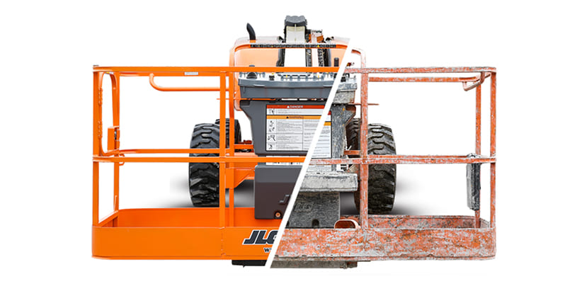 JLG Reconditioned vs Used Scissor