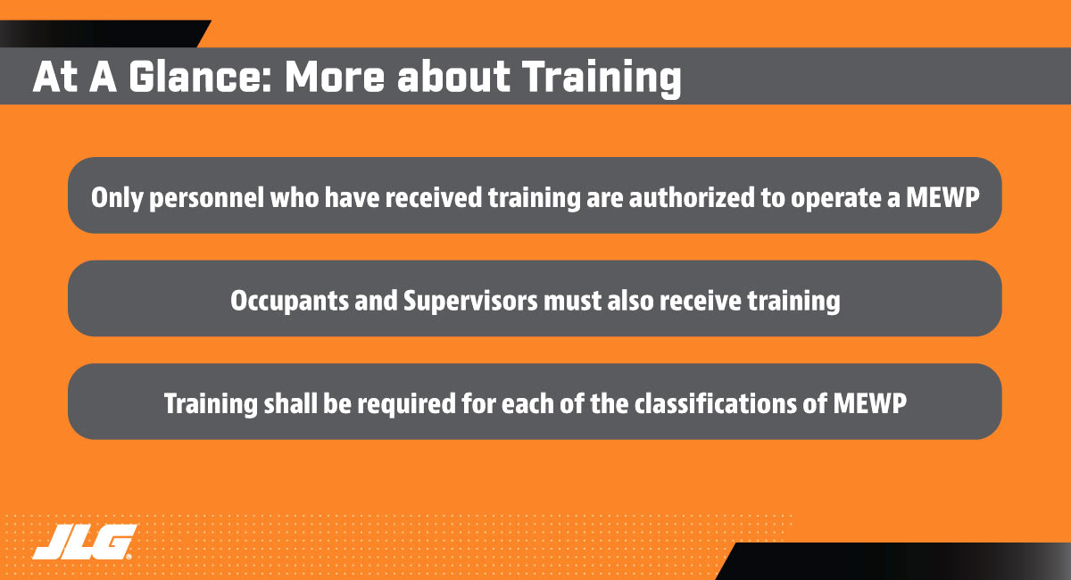 Training Requirements with Updated ANSI and CSA Standards at a Glance