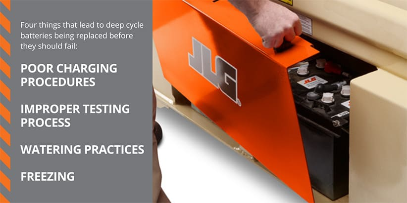 Four Tips for Deep Cycle Battery Maintenance