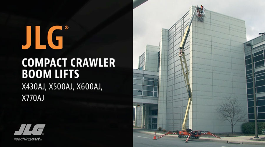 Compact Crawler Booms | JLG Equipment