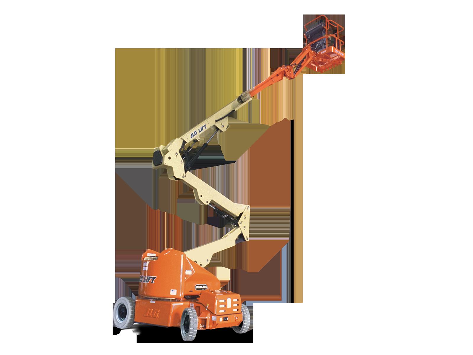 Single Man Lift 40 Ft : M apjn electric boom lift jlg