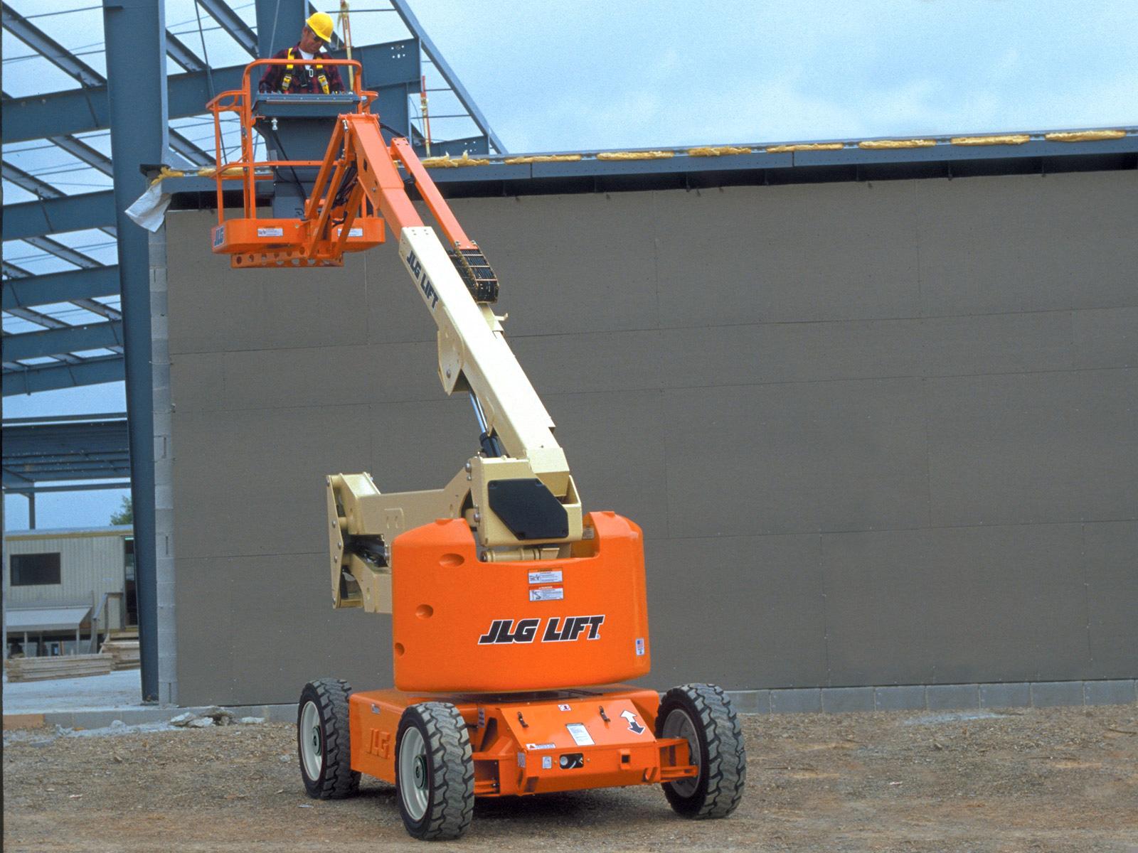 e450aj electric boom lift jlg e450aj