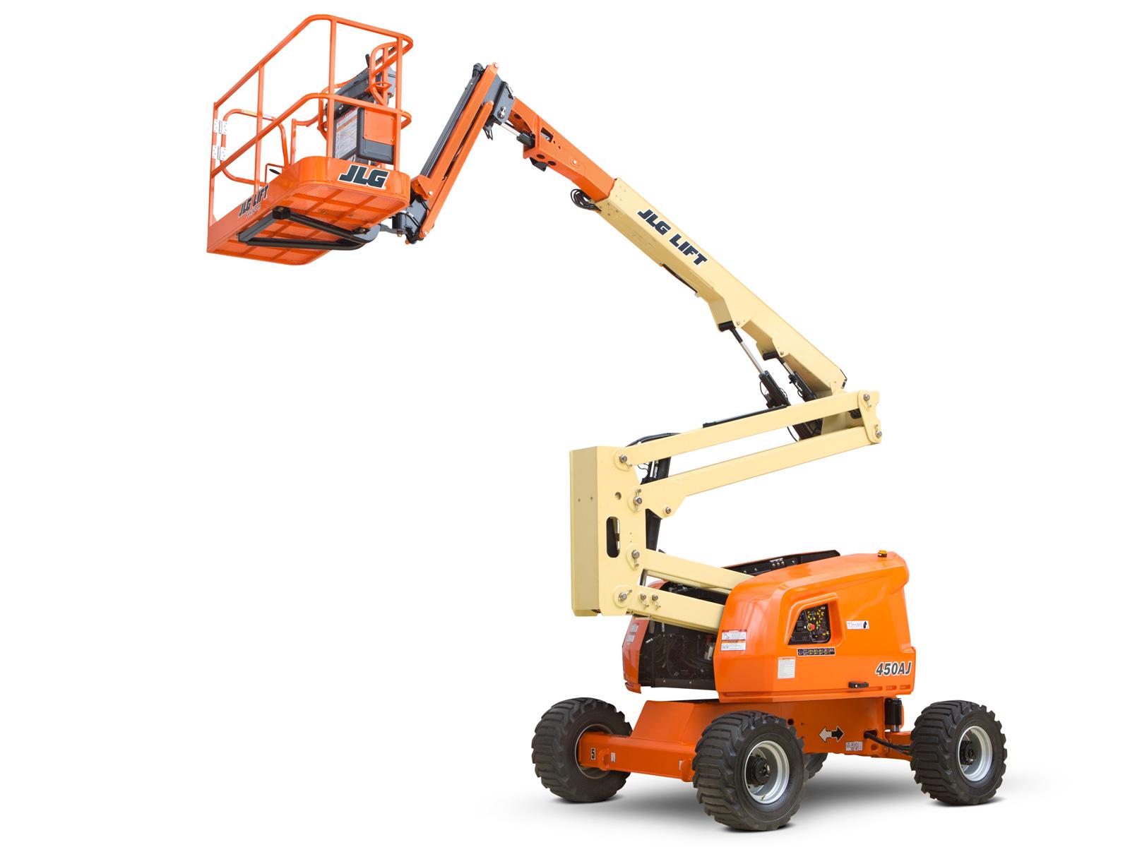 Jlg Boom Lift : Aj articulating boom lift jlg
