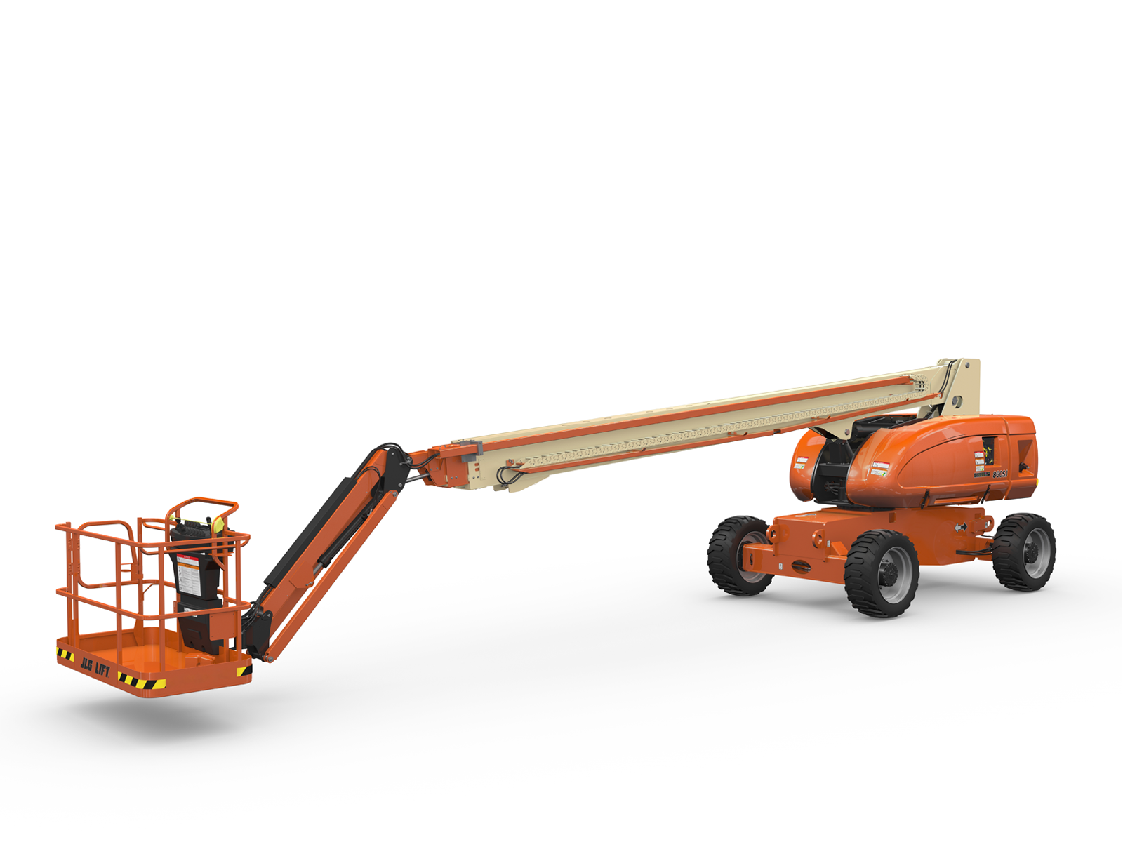 Old Truck Models >> 860SJ Telescopic Boom Lift | JLG