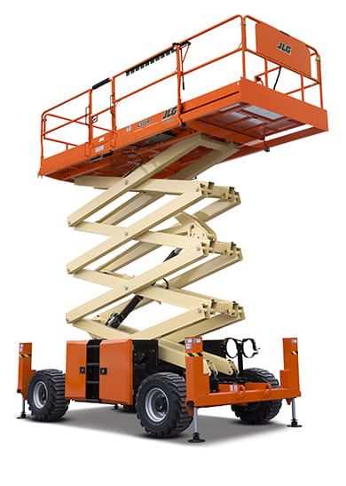 jlg scissor lifts offer a reliable aerial work platform solution jlg engine powered scissor lifts