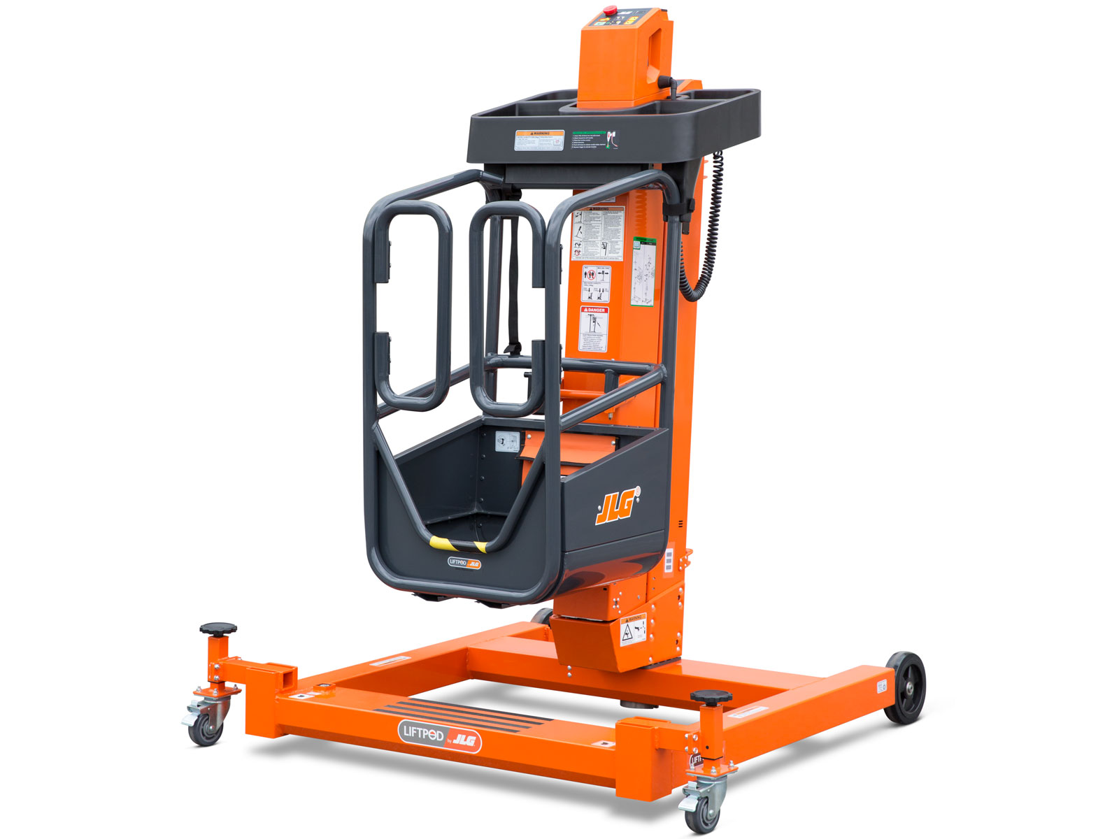 Portable Tall Wheelchair Platform Lift : Liftpod ft personal portable lift jlg