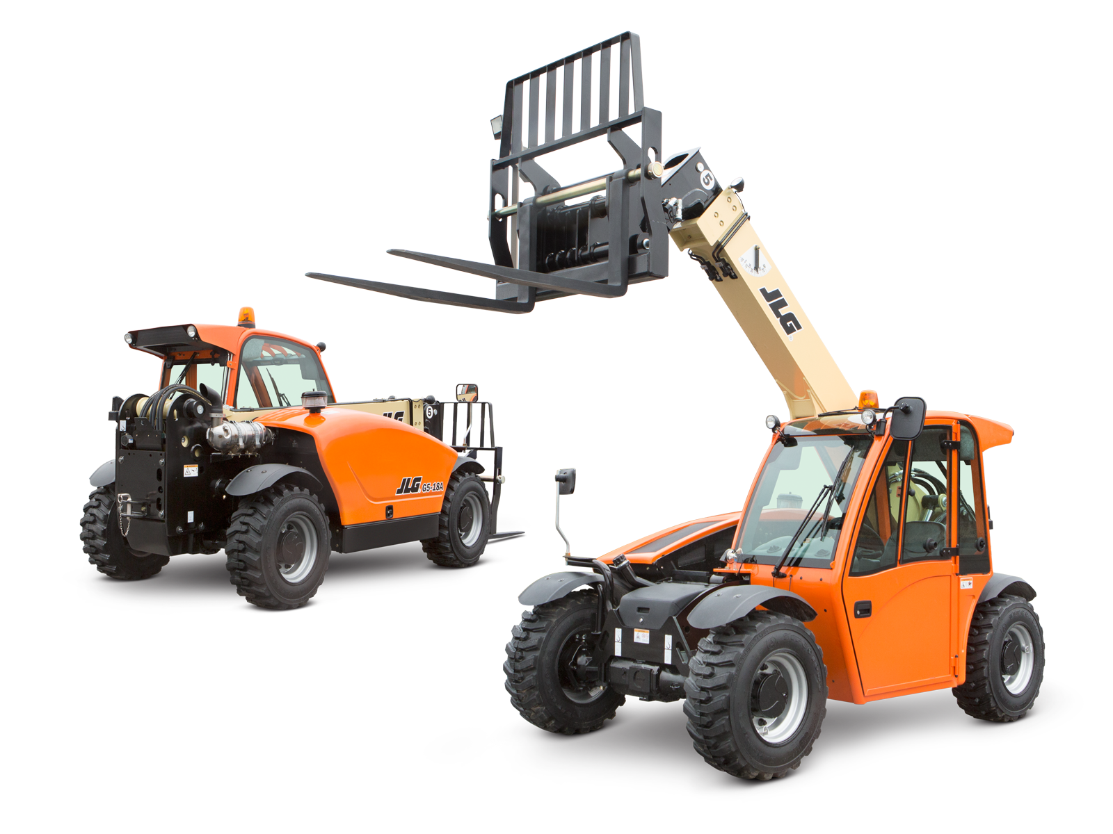 JLG® G5-18A Telehandler   Compact For Tight Job Sites   JLG