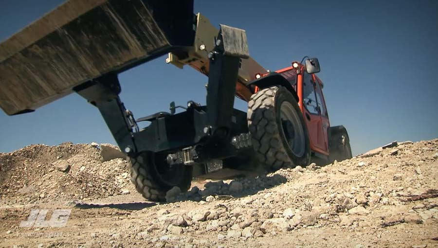 High Capacity Telehandler Video
