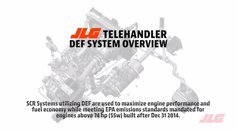 Understanding Diesel Exhaust Solutions | JLG