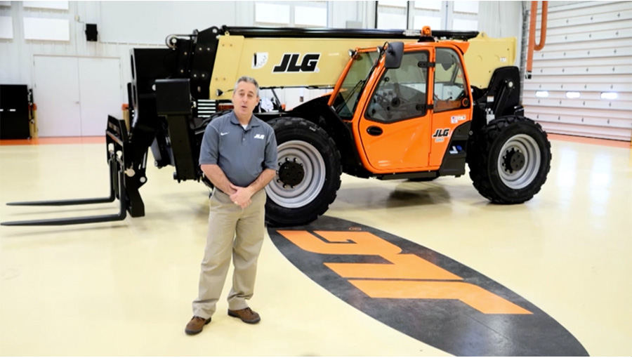 JLG Telehandler Tour Video