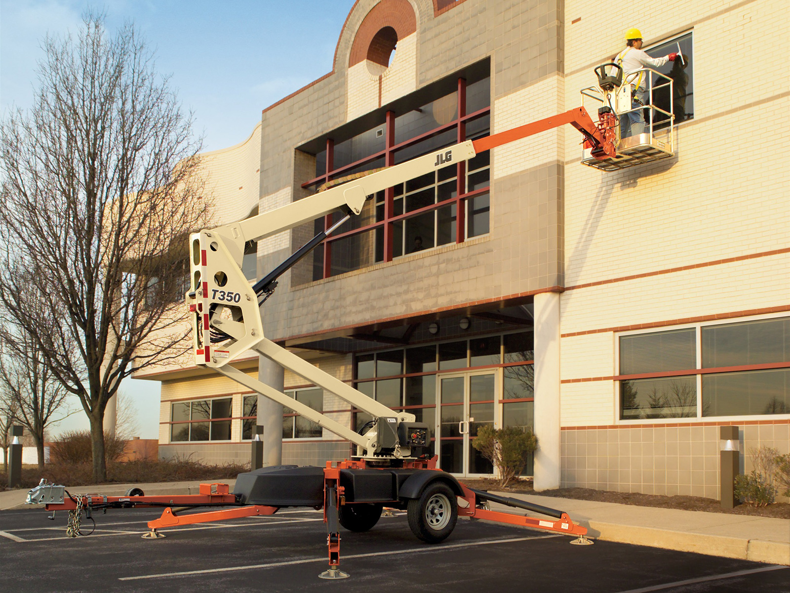 t350 towable boom lift jlg tow pro® boom lift