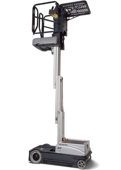 Vertical Lift Parts : Msp driveable stock picker vertical mast lift jlg