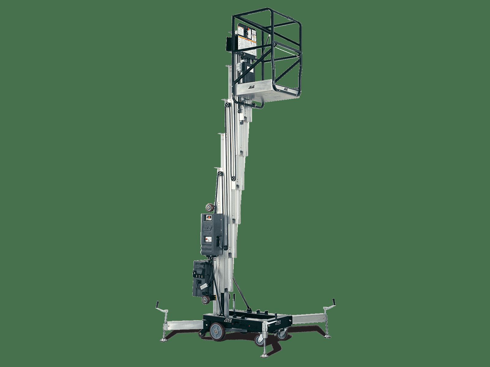 41am push around vertical mast lift
