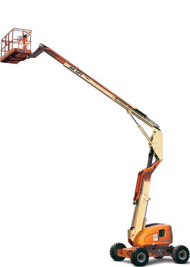 Narrow Articulating Boom Lift : An articulating narrow boom lift jlg