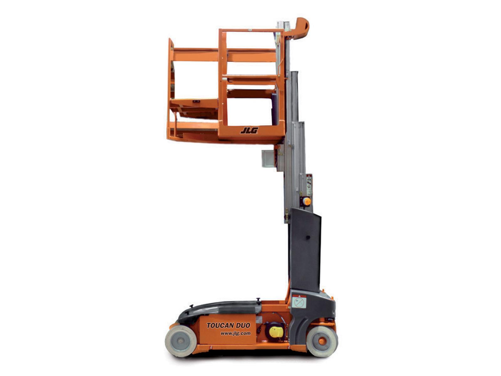 toucan duo vertical mast lift jlg. Black Bedroom Furniture Sets. Home Design Ideas