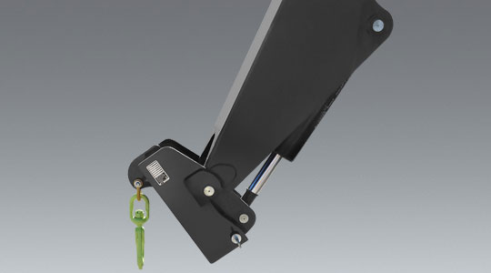 Coupler-Mounted Lifting Hook