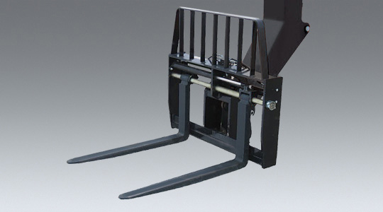 Dual Fork Positioning Carriage