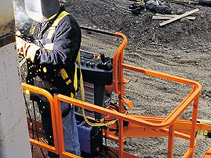 SkyWelder® Welder Boom Lift Package | Equipment | JLG
