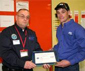 Team Member Receives Department of Defense Patriot Award