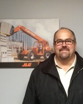 Dwayne Culp of Valley Supply Equipment