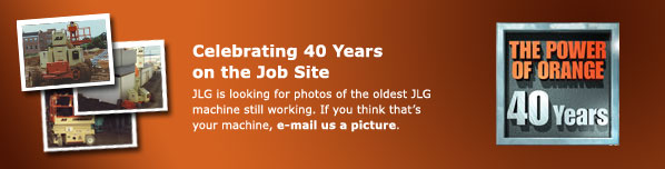 JLG is looking for photos of the oldest JLG machine still working