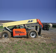 JLG® Telehandlers: Tough Enough for the U.S. Military