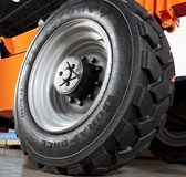 Telehandlers Receiving Tire Upgrades