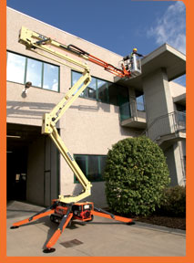 Compact Crawler Boom Lifts