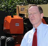 U.S. Senator Toomey Visits JLG Headquarters