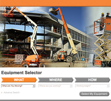 Find the Machines You Need with New Equipment Selector