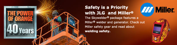 Safety is a Priority with JLG and Miller®