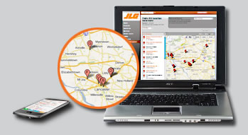 JLG Launches Revamped Dealer Locator